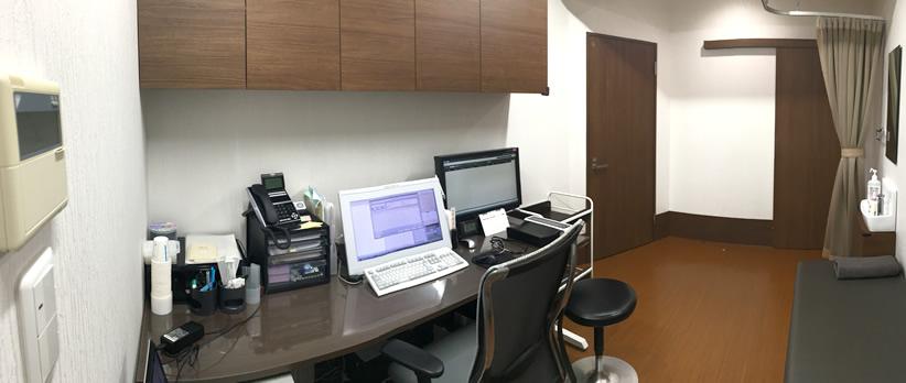 第1診察室(院長室)